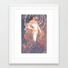 Lady of Light I Framed Art Print