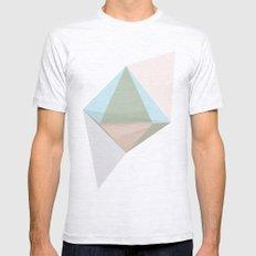 pentagonal dipyramid Mens Fitted Tee Ash Grey SMALL