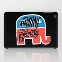 This Machine Elects Fascists iPad Case