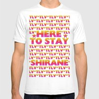 Shirane - Here To Stay (… Mens Fitted Tee White SMALL