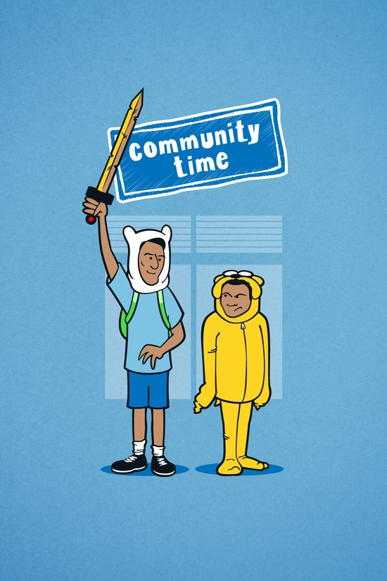 Community Time! Canvas Print