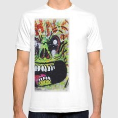 GNOME Mens Fitted Tee SMALL White