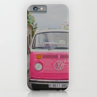 iPhone & iPod Case featuring Hot Pink Lady by Hello Twiggs