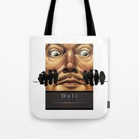 Dali Vineyards Wine Label Tote Bag