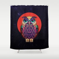 OWL 2 Shower Curtain
