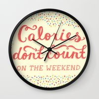 Calories Don't Count Wall Clock