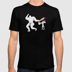 Hercules accidentally kills the boy who brought him a water jar SMALL Black Mens Fitted Tee