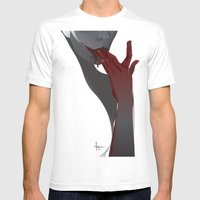 APERITIF III Mens Fitted Tee White SMALL