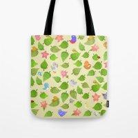 birds&leaves Tote Bag