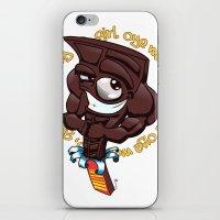 Brown Hunk Chocolate  iPhone & iPod Skin