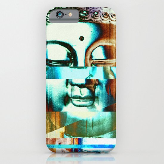 Glitch Buddha #3 iPhone & iPod Case