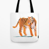 Jack Tiger Tote Bag