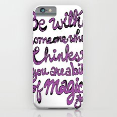 Be With Someone Purple! iPhone 6 Slim Case