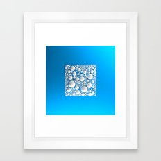 Circle Square Framed Art Print
