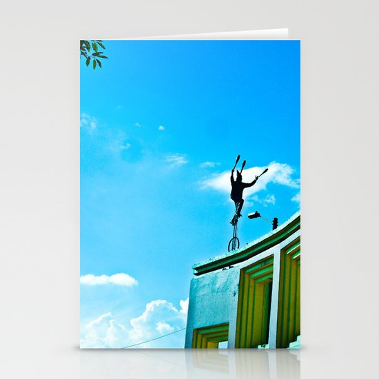 THE WIND AND THE BALANCE Stationery Card