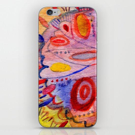 optimist and pessimist iPhone & iPod Skin