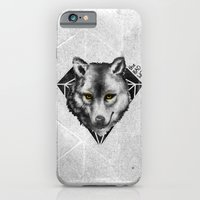 iPhone & iPod Case featuring The Bad Wolf by Fla'Fla'