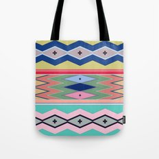 Morning mist near the painted hills Tote Bag