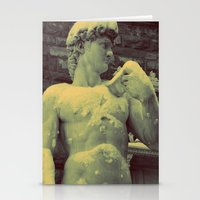 David Statue In Florence… Stationery Cards