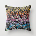 Heads Throw Pillow