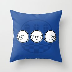 Boo No Evil Throw Pillow