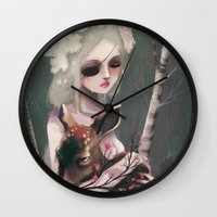 The day before the wedding Wall Clock