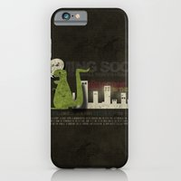 Dinosaur in the City iPhone 6 Slim Case
