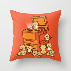 The Original Copycat Throw Pillow