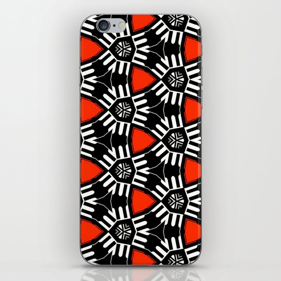 Breitner Pattern iPhone & iPod Skin