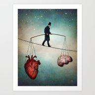 The Balance Art Print