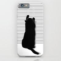 Cat Scratch iPhone 6 Slim Case