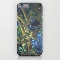 Dawn Chorus in the Primeval New Zealand Wilderness iPhone 6 Slim Case