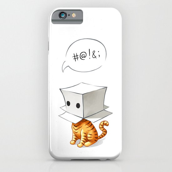 Cat in the Box 2 iPhone & iPod Case