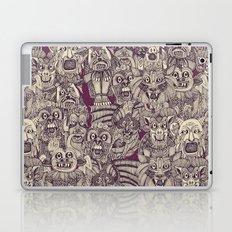 gargoyles purple Laptop & iPad Skin