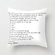 Doolittle Designs Throw Pillow