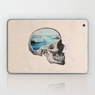 Laptop & iPad Skin featuring Brain Waves by Chase Kunz