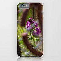 Iron And Purple Flowers iPhone 6 Slim Case