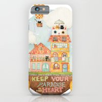 Keep your paradise in your heart iPhone 6 Slim Case