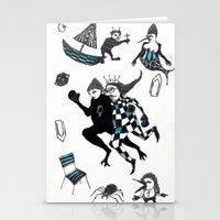 Fuite Du Roi Stationery Cards