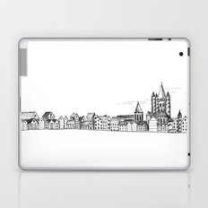 sketchy town Laptop & iPad Skin