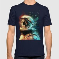 Joseph A. Cooper Mens Fitted Tee Navy SMALL