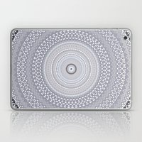 Kaleidoscope Greys Patte… Laptop & iPad Skin