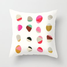 Painted Pebbles 1 Throw Pillow