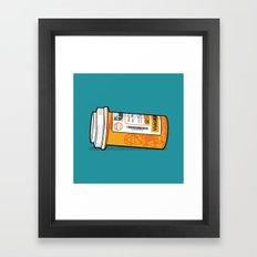 Mario M.D. Framed Art Print