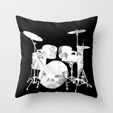 Invert drum Throw Pillow