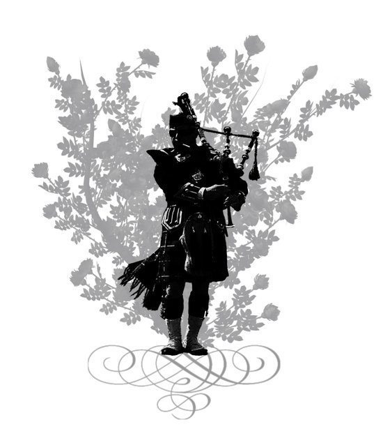 Flower of Scotland Art Print