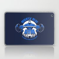 Mighty Blue Gym Laptop & iPad Skin