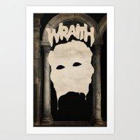 WRAITH - Death Mask Art Print