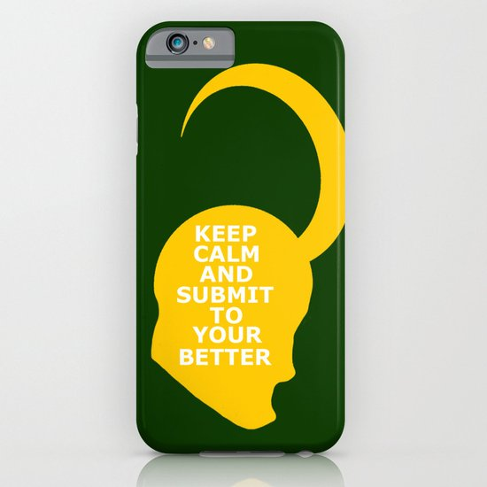 Keep Calm and Submit iPhone & iPod Case