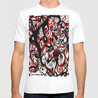 Into My Eye Mens Fitted Tee White SMALL